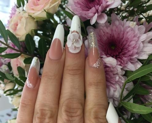 nail art novia