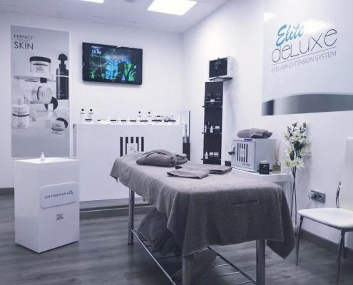 Élite Profesional, Cabina de tratamientos faciales y corporales